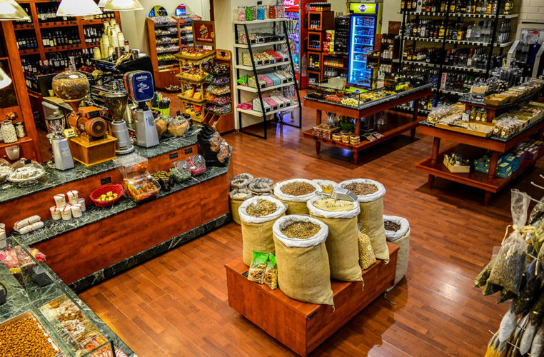 Cava Moutzouri - Kalamata - Store